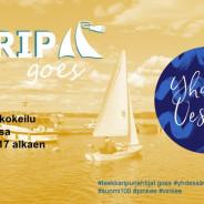 Trip goes Yhdessä Vesille: kevytvenekokeilu Otarannassa 7.-8.6. klo 17 alkaen